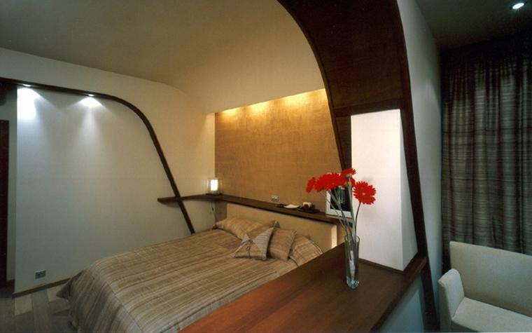 Квартира. спальня из проекта , фото №1996