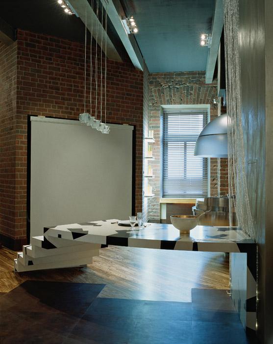 Квартира. кухня из проекта , фото №2028
