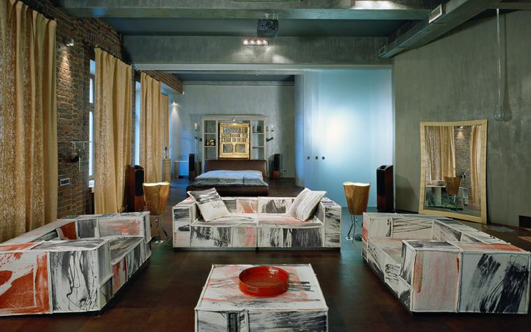 Квартира. гостиная из проекта , фото №2026