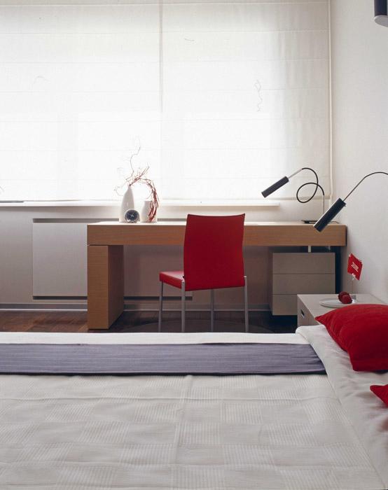 Квартира. спальня из проекта , фото №5556