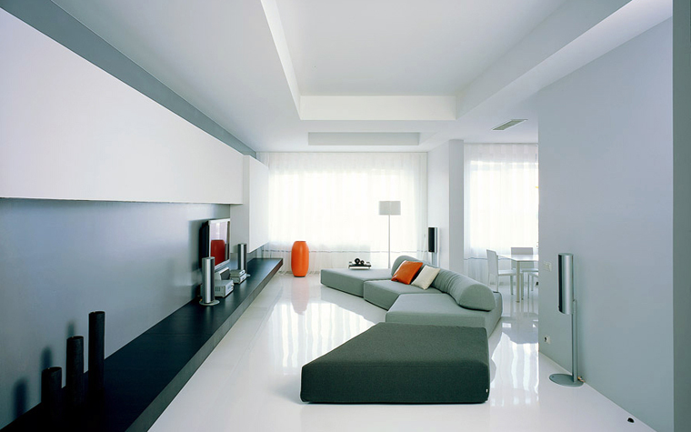 Квартира. гостиная из проекта , фото №2294