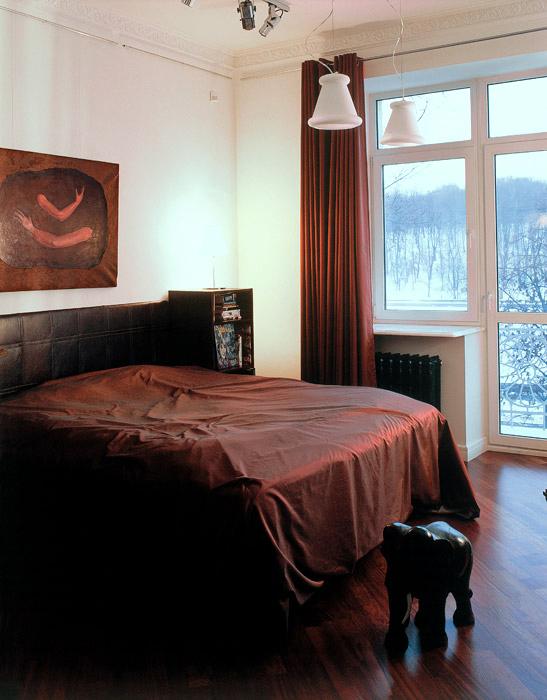 Квартира. спальня из проекта , фото №2308