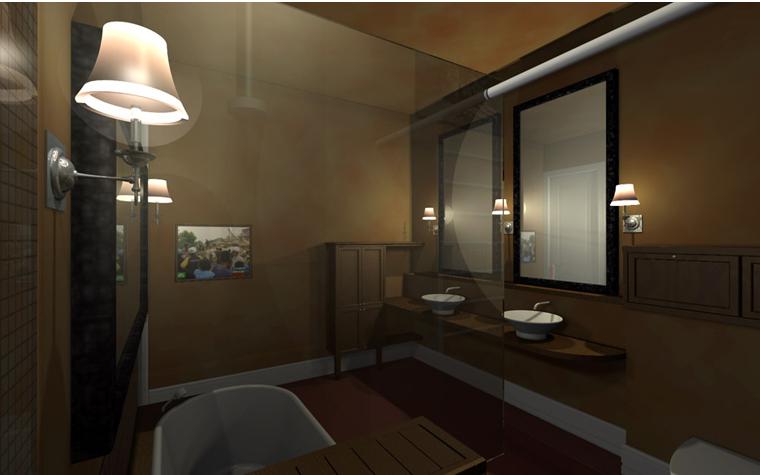 интерьер ванной - фото № 2421