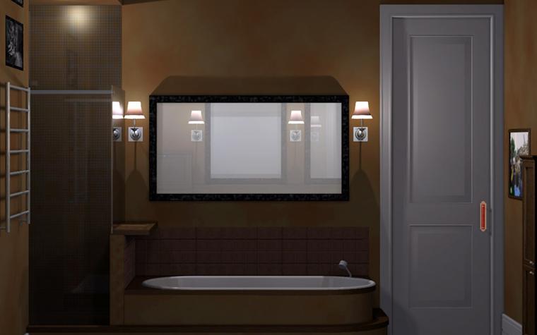 интерьер ванной - фото № 2423