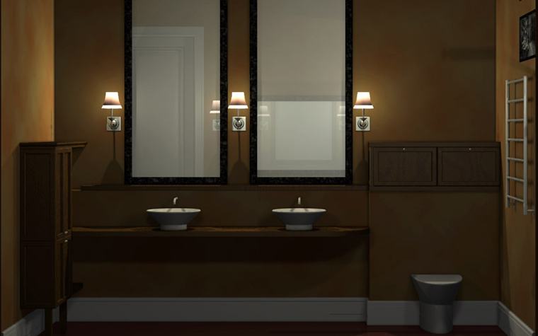 интерьер ванной - фото № 2424