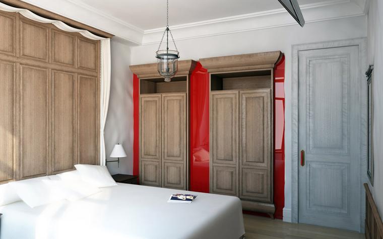 Фото № 2410 спальня  Квартира