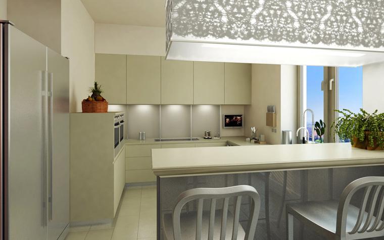 Квартира. кухня из проекта , фото №2416