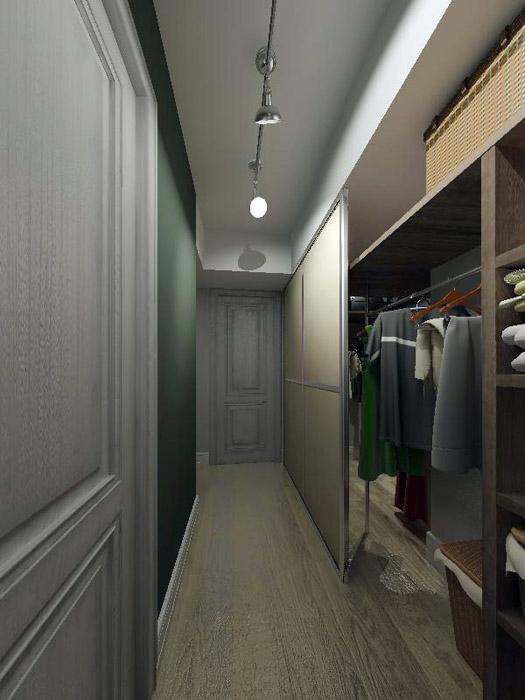 Квартира. гардеробная из проекта , фото №2425