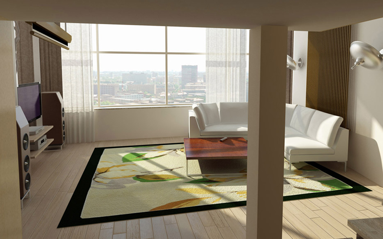 Фото № 2431 гостиная  Квартира