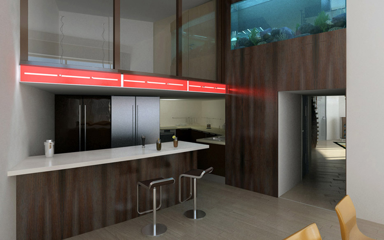 Фото № 2435 кухня  Квартира