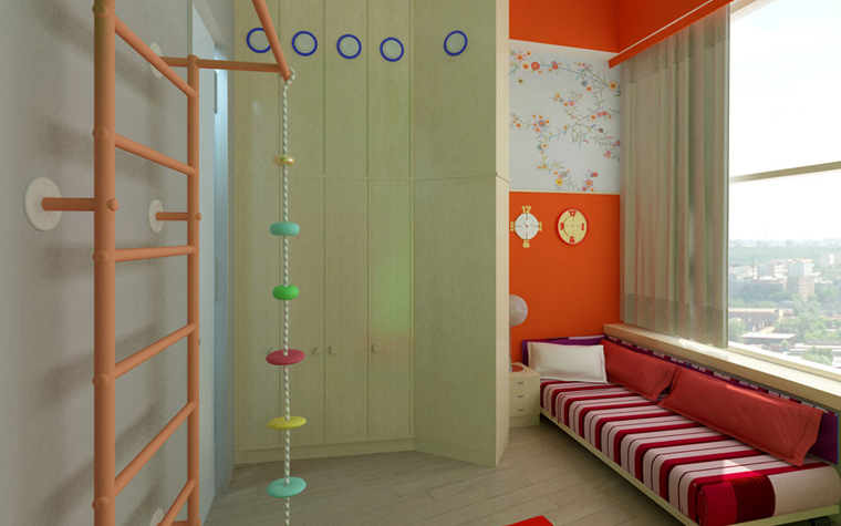 Фото № 2442 детская  Квартира