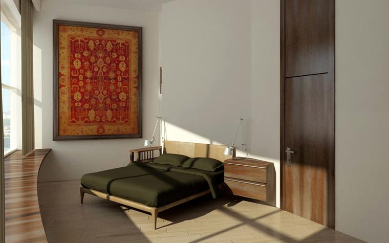 Фото № 2448 спальня  Квартира
