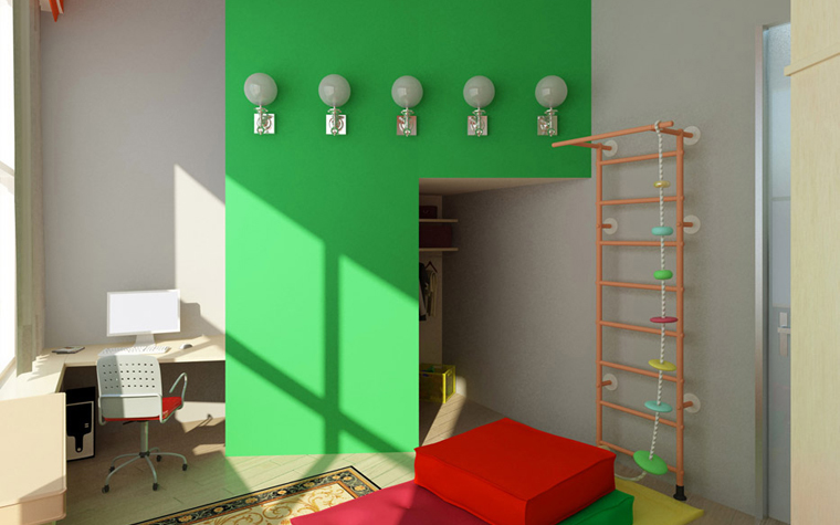 Фото № 2444 детская  Квартира