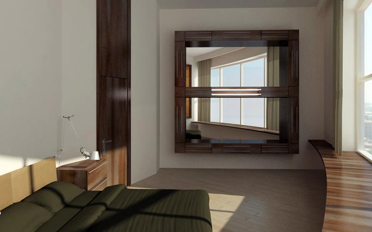 Фото № 2449 спальня  Квартира