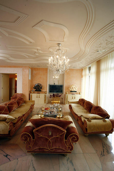 Квартира. гостиная из проекта , фото №2520