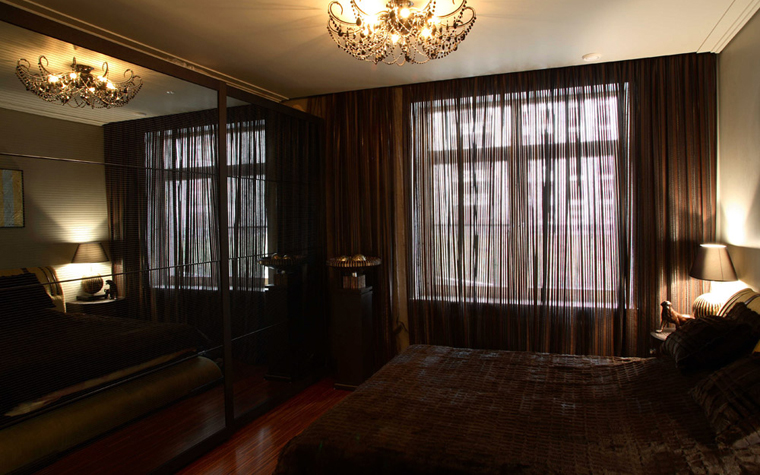 Квартира. спальня из проекта , фото №2941