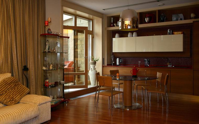 Квартира. кухня из проекта , фото №2946