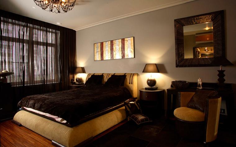 Квартира. спальня из проекта , фото №2942
