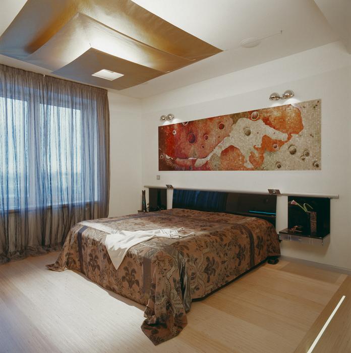 Квартира. спальня из проекта , фото №5133