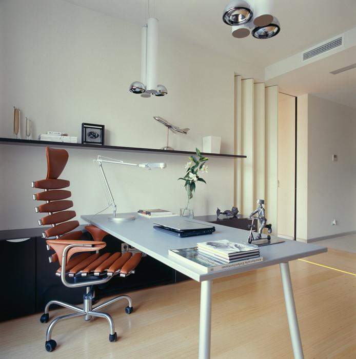 Квартира. кабинет из проекта , фото №5135
