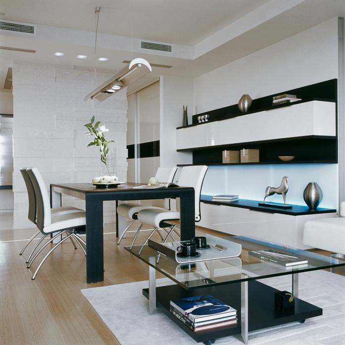 Квартира. столовая из проекта , фото №5146