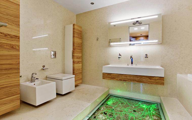 Квартира. ванная из проекта , фото №5151