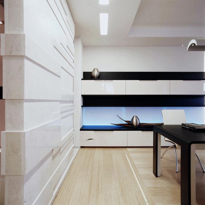Квартира. гостиная из проекта , фото №5141