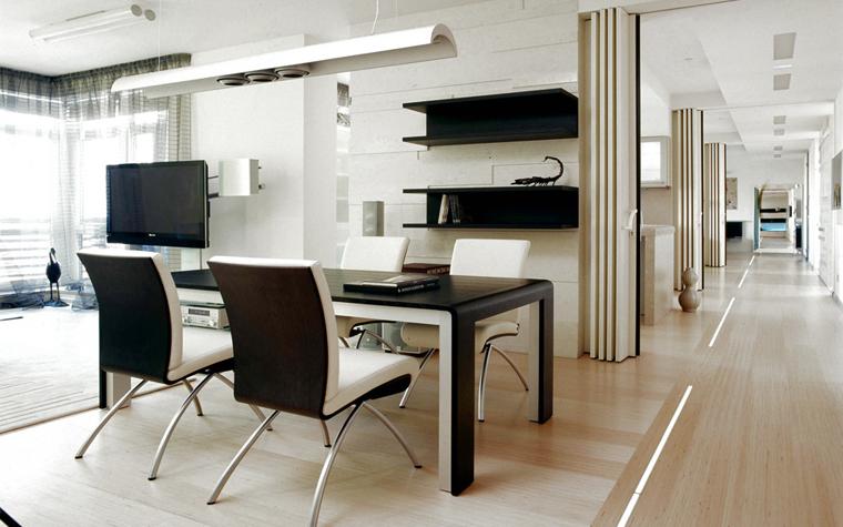 Квартира. столовая из проекта , фото №5147