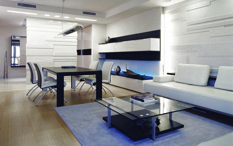 Квартира. гостиная из проекта , фото №5144