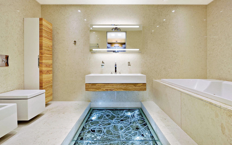 Квартира. ванная из проекта , фото №5154