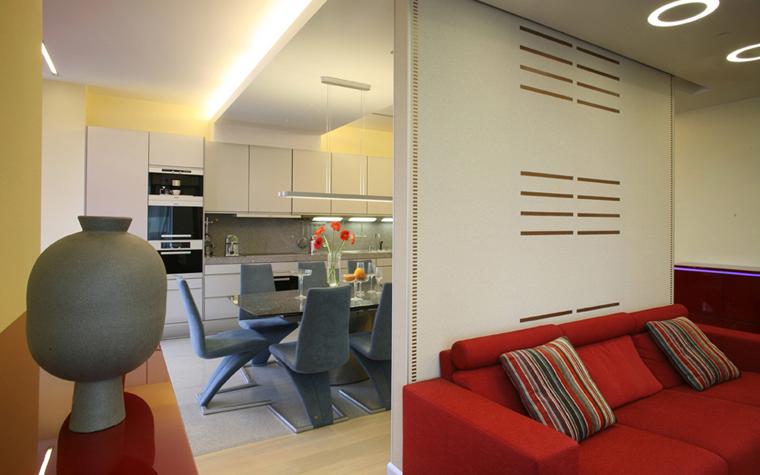 Квартира. гостиная из проекта , фото №5157