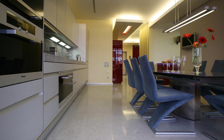 Квартира. кухня из проекта , фото №5165