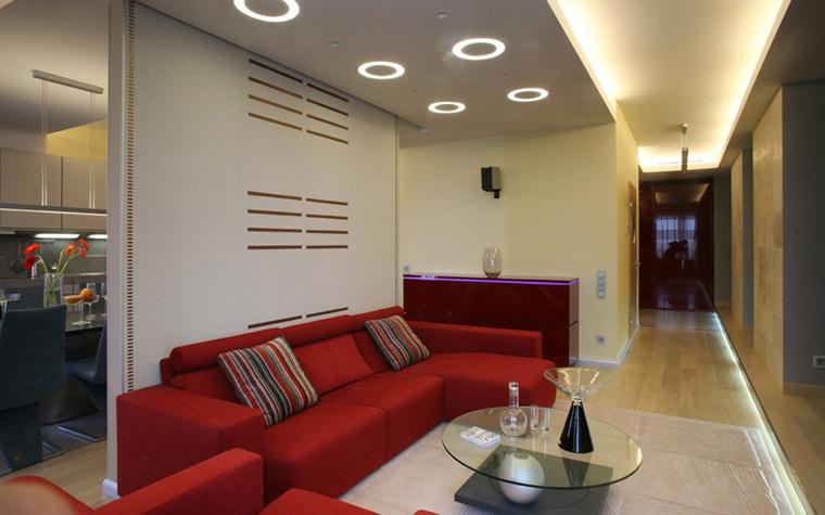 Квартира. гостиная из проекта , фото №5190