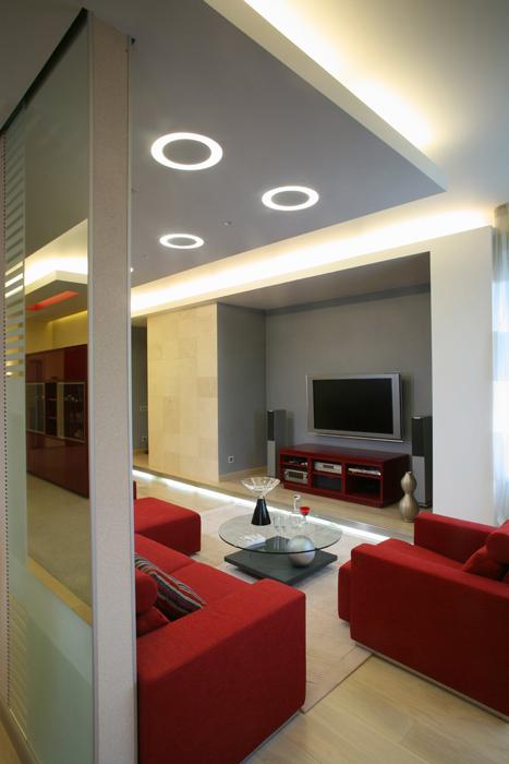Квартира. гостиная из проекта , фото №5162