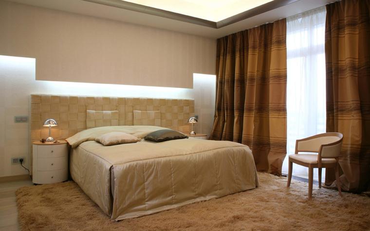 Квартира. спальня из проекта , фото №5174