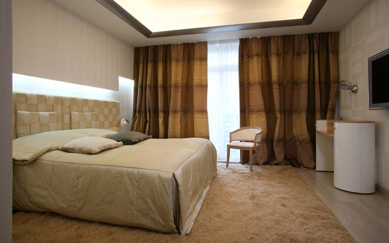 Квартира. спальня из проекта , фото №5175