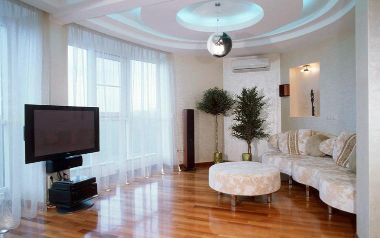 интерьер гостиной - фото № 3986