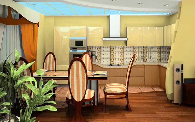 Квартира. кухня из проекта , фото №3989