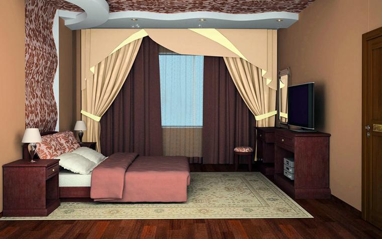 интерьер спальни - фото № 3990