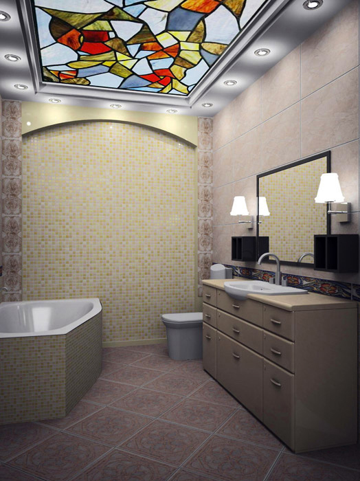 интерьер ванной - фото № 3993