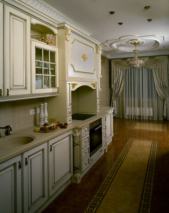 Квартира. кухня из проекта , фото №5319