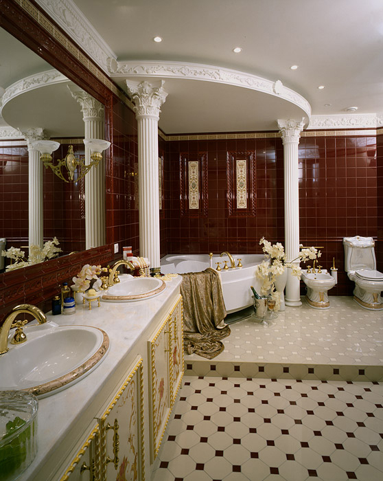 Квартира. ванная из проекта , фото №5320