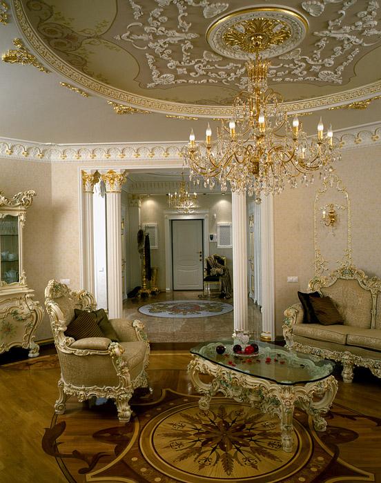Квартира. гостиная из проекта , фото №5322