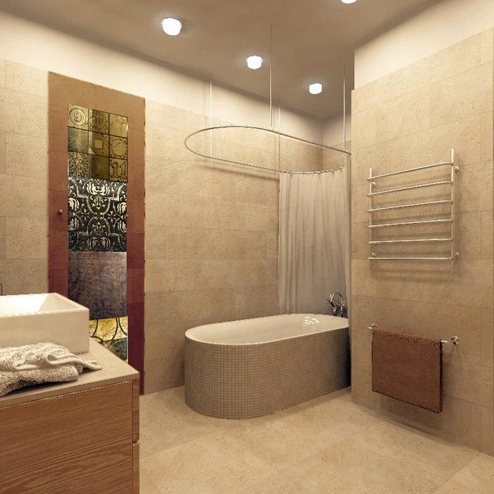 интерьер ванной - фото № 5413