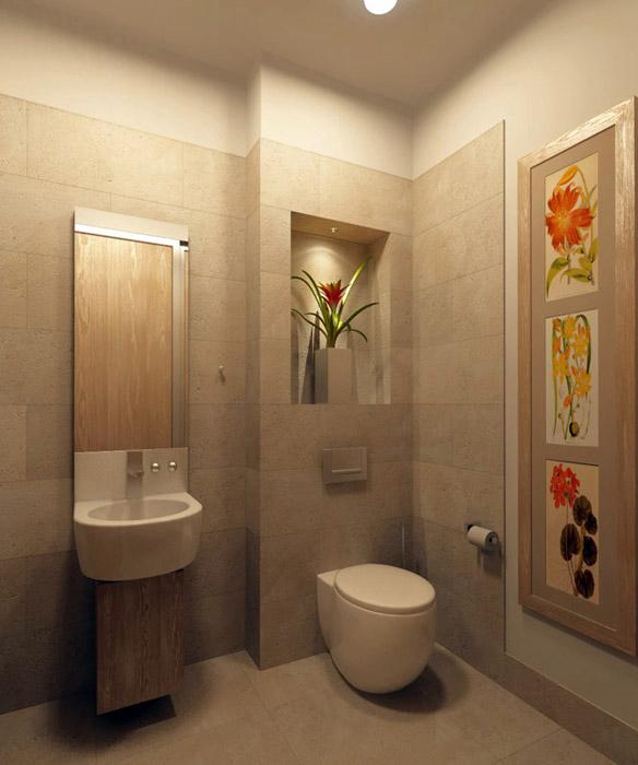 интерьер ванной - фото № 7791