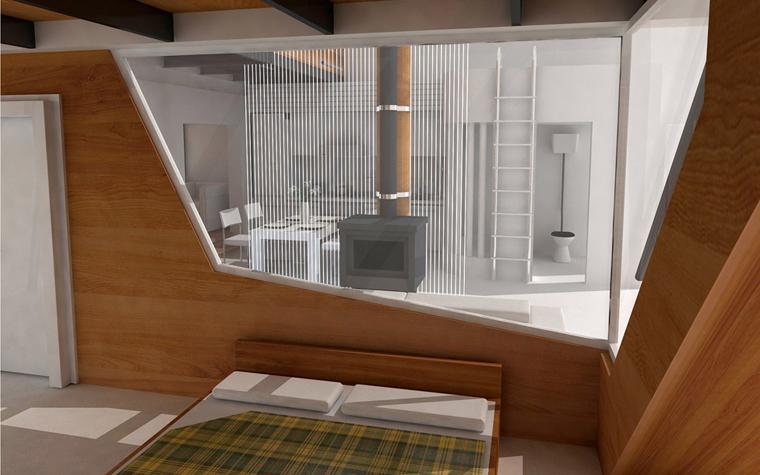 Квартира. спальня из проекта , фото №5830