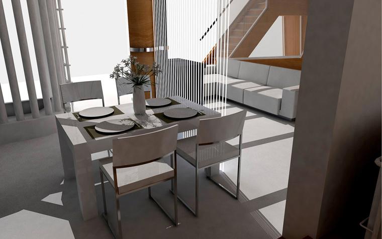 Квартира. кухня из проекта , фото №5825