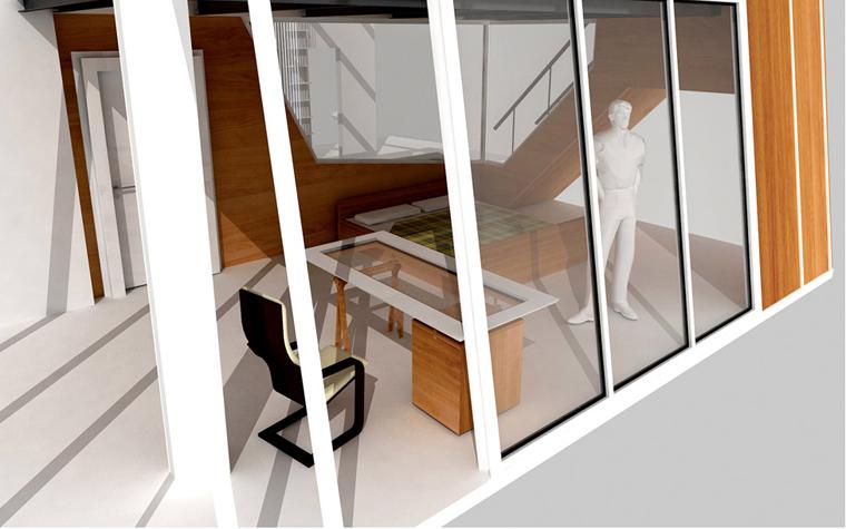 Квартира. спальня из проекта , фото №5831