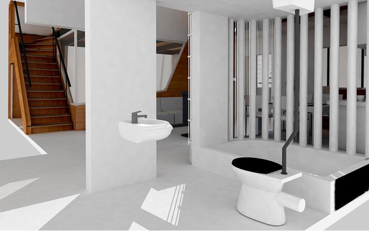 Квартира. ванная из проекта , фото №5833