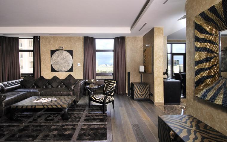 интерьер гостиной - фото № 5923